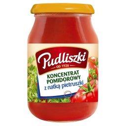 Koncentrat pomidorowy z natką pietruszki