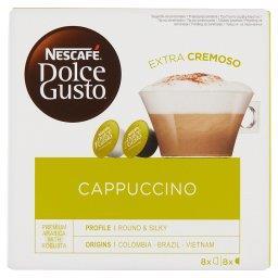 Dolce Gusto Cappuccino Kawa w kapsułkach  (8 x 17 g i 8 x 6,3 g)