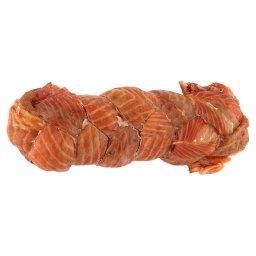 Warkocze z łososia wędzone