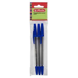 Długopis jednorazowy 3 szt. Niebieski