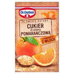 Ze świata natury Cukier ze skórką pomarańczową