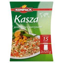 Kasza jęczmienna z warzywami 250 g (2  torebki)