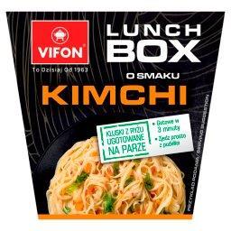 Lunch Box Danie błyskawiczne o smaku kimchi