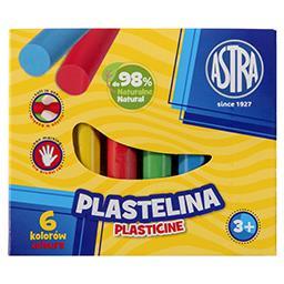 Astra Plastelina 6 kolorów