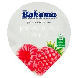 Premium Mild Jogurt z malinami
