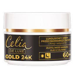 Celia Gold 24k Luksusowy krem przeciwzmarszczkowy 60...