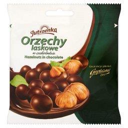 Orzechy laskowe w czekoladzie