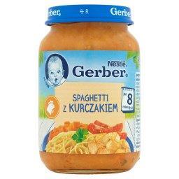 Spaghetti z kurczakiem po 8 miesiącu