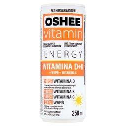 Vitamin Energy Witamina D+K Napój gazowany o smaku m...