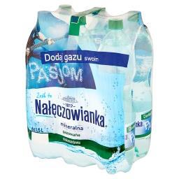 Naturalna woda mineralna gazowana 6 x 1,5 l