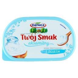 Twój Smak Serek śmietankowy aksamitny z jogurtem