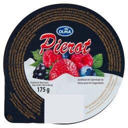 Pierot Śmietankowy jogurt z leśnymi owocami i truska...