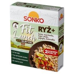 Fit Lunch Ryż + kasza marchewka koper włoski papryka...