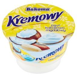 Kremowy Jogurt kokosowo-migdałowy