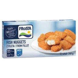 Fish Nuggets z fileta  (12 sztuk)