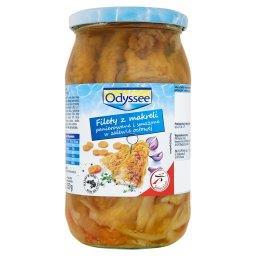 Filety z makreli panierowane i smażone w zalewie oct...