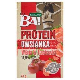 Ba! Protein Owsianka wiśnia & truskawka 47 g