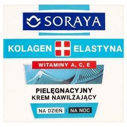 Kolagen + Elastyna Pielęgnacyjny krem nawilżający na...