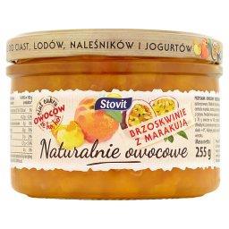Naturalnie owocowe Brzoskwinie z marakują