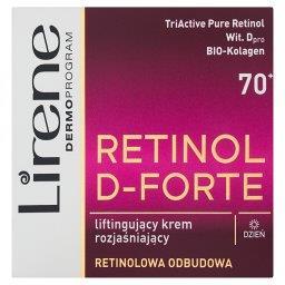 Retinol D-Forte 70+ Liftingujący krem rozjaśniający na dzień