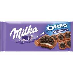 Oreo Ciastka kakaowe i nadzienie mleczne o smaku wan...