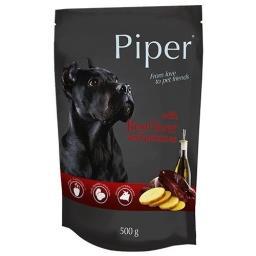 Mokra karma dla psa Piper Animals z wątrobą wołową i ziemniakami 500 g