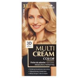 Multi Cream Color Farba do włosów piaskowy blond 31