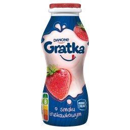 Napój mleczny o smaku truskawkowym 170 g