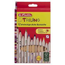 Kredki Trilino12 kolorów