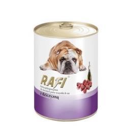 Mokra karma dla psa z dziczyzną puszka 400 g