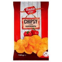 Chipsy o smaku paprykowym