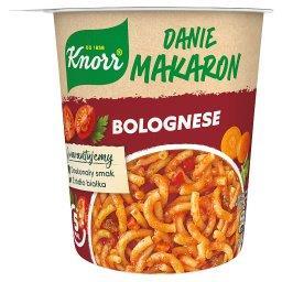 Danie makaron Bolognese