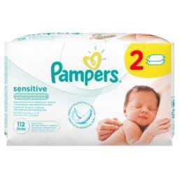 Sensitive chusteczki dla niemowląt 2 x 56 sztuk