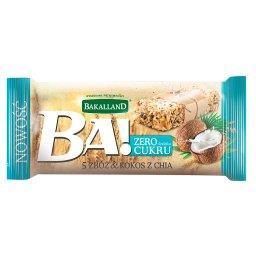 Ba! 5 zbóż & kokos z chia Baton zbożowy