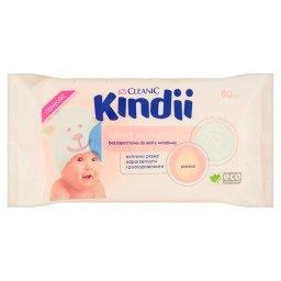 Kindii Ultra Sensitive Chusteczki bezzapachowe do skóry wrażliwej 60 sztuk