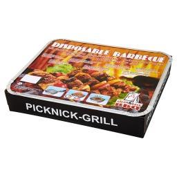 Grill piknikowy jednorazowy