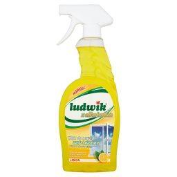 Z alkoholem Lemon Płyn do mycia szyb i glazury