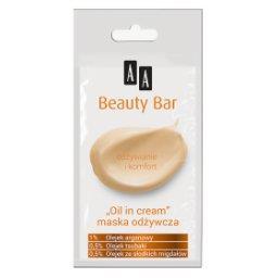 """Beauty Bar maska maska """"oil in cream"""" odżywcza 8 ml"""