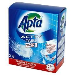 Activ' 2w1 Tabletki do wc odkamieniające