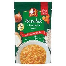 Rosołek z kurczakiem i ryżem 450 g