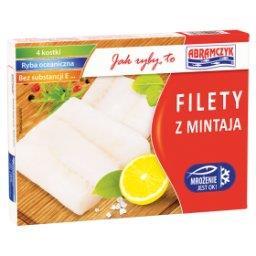 Filety z mintaja bez skóry
