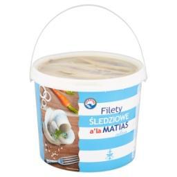 Filety śledziowe a'la Matias solone