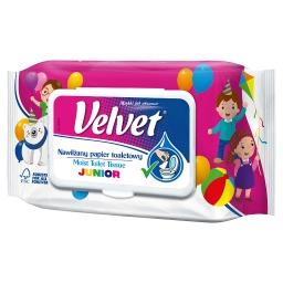 Junior Nawilżany papier toaletowy 42 sztuki