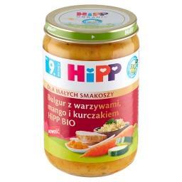 BIO Dla Małych Smakoszy Bulgur z warzywami mango i k...