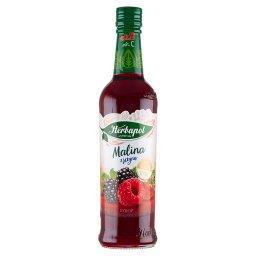 Suplement diety syrop o smaku malinowo-jeżynowym