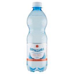 Naturalna woda mineralna wysokozmineralizowana wysokonasycona