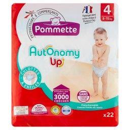 Autonomy Up Pieluchomajtki dla dzieci rozmiar 4 8-15 kg 22 sztuki