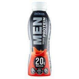 Men Shake z wysoką zawartością protein smak truskawkowy