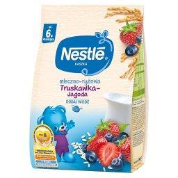Kaszka mleczno-ryżowa truskawka-jagoda dla niemowląt...