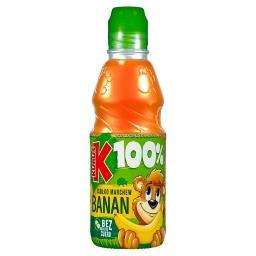 100% Sok banan marchew jabłko